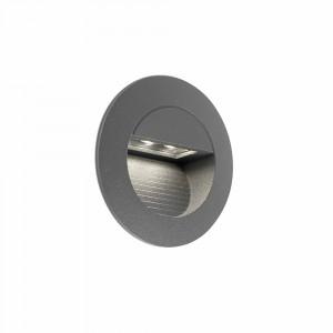 Faro - Outdoor - Sedna - Mini Racing FA LED - Spot de chemin à encastrer LED - Gris -  - Blanc naturel - 4000 K - 45°