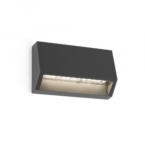 Faro - Outdoor - Sedna - Must AP LED S - Applique murale petite LED - Gris -  - Blanc chaud - 3000 K - Diffuse