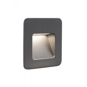 Faro - Outdoor - Sedna - Nase FA LED M - Spot encastrable LED d'extérieur taille moyenne - Gris -  - Blanc chaud - 3000 K - Diffuse