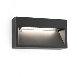 Faro - Outdoor - Sedna - Path AP LED - Applique murale LED d'extérieur - Gris -  - Très chaud - 2700 K - Diffuse