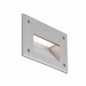 Faro - Outdoor - Sedna - Store FA LED - Spot de chemin LED à encastrer - Gris -  - Très chaud - 2700 K - 120°