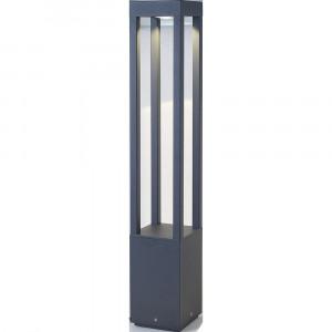 Faro - Outdoor - Shadow - Agra PT LED L - Borne d'éclairage LED pour l'extérieur - Gris -  - Blanc chaud - 3000 K - Diffuse