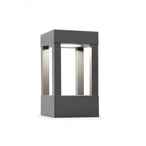 Faro - Outdoor - Shadow - Agra PT LED S - Borne d'éclairage LED d'extérieure petite - Gris -  - Blanc chaud - 3000 K - Diffuse