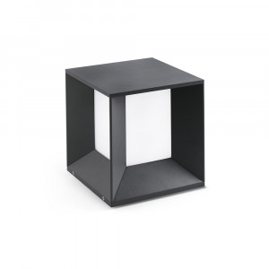 Faro - Outdoor - Shadow - Mila TE LED - Lampadaire LED d'extérieur - Gris -  - Blanc naturel - 4000 K - Diffuse
