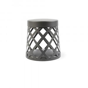 Faro - Outdoor - Shadow - Shadow TE - Lampadaire LED design pour l'extérieur - Gris -  - Blanc chaud - 3000 K - Diffuse