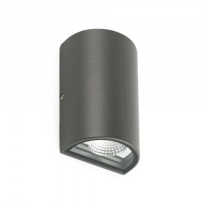 Faro - Outdoor - Steps - Lace AP LED - Applique avec double émission de lumière LED pour l'extérieur - Gris -  - Blanc naturel - 4000 K - 120°