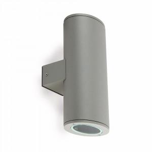 Faro - Outdoor - Steps - Piston AP - Lampe murale à double émission pour l'extérieur - Gris - LS-FR-70808