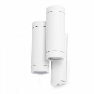 Faro - Outdoor - Steps - Steps AP 2L - Applique murale bi-émission à deux lumières - Blanc - LS-FR-75502