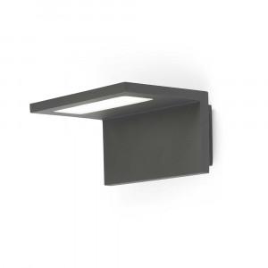 Faro - Outdoor - Sun - Ele AP LED - Applique LED en aluminium - Gris -  - Blanc chaud - 3000 K - Diffuse