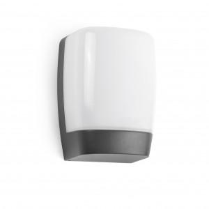 Faro - Outdoor - Sun - Pol AP LED - Applique murale d'extérieur à LED - Anthracite -  - Blanc chaud - 3000 K - Diffuse