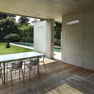 Faro - Outdoor - Sun - Tacana AP - Applique murale LED bi-émission pour l'extérieur
