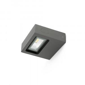 Faro - Outdoor - Sun - Taima AP LED - Applique murale à LED pour terrasses et vérandes - Gris -  - Blanc chaud - 3000 K - Diffuse