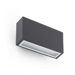 Faro - Outdoor - Sun - Tane AP LED - Lampe murale à émission de lumière LED d'extérieur - Gris -  - Blanc chaud - 3000 K - Diffuse