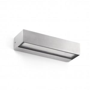 Faro - Outdoor - Sun - Toluca AP LED - Applique avec double émission de lumière LED pour l'extérieur - Aluminium -  - Blanc chaud - 3000 K - Diffuse