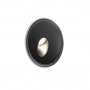 Faro - Outdoor - Tecno - Dang FA LED - Spot de chemin d'extérieur - Noir -  - Blanc chaud - 3000 K - Diffuse