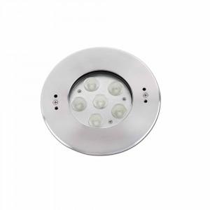 Faro - Outdoor - Tecno - Edel FA LED - Spot de sol LED encastrable d'extérieur - Nickel mat -  - Blanc naturel - 4000 K - 30°