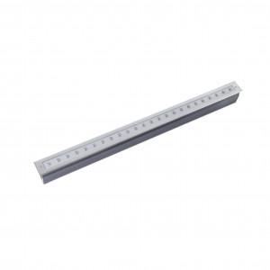 Faro - Outdoor - Tecno - Grava-2 FA LED - Spot d'exterieur LED à encastrer carrossable - Nickel mat -  - Blanc chaud - 3000 K - 15°