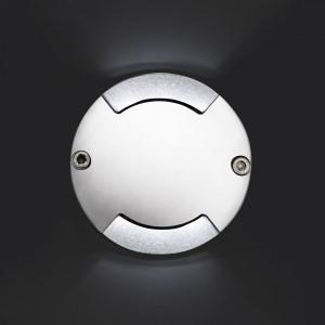 Faro - Outdoor - Tecno - Keenan-1 FA LED - Spot décoratif LED à encastrer - Nickel - LS-FR-70547