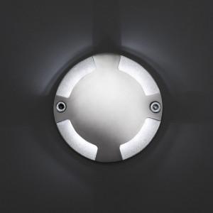 Faro - Outdoor - Tecno - Keenan-3 FA LED - Spot d'extérieur - Nickel - LS-FR-70564