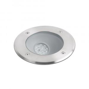 Faro - Outdoor - Tecno - Salt FA LED - Marqueur d'extérieur carrossable LED en acier - Nickel mat -  - Blanc chaud - 3000 K - 45°