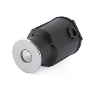 Faro - Outdoor - Tecno - Taro FA LED - Spot encastrable LED pour l'extérieur - Acier inox -  - Blanc chaud - 3000 K - 30°