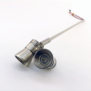 i-LèD - Outlet - Plafonnier BOZ 2 1+1LED 2W S/ALIM H.320 NI.SPA
