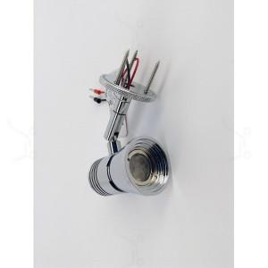 i-LèD - Outlet - Plafonnier PUK 2 3LED 1W S/ALIM CROMO