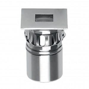 i-LèD - Uplights - Beret - Spot piétinable Beret-2Q - powerLED 2 W 630 mA Square