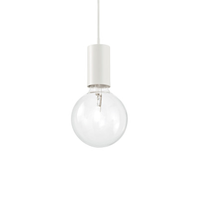 Ideal Lux - Bulb - Hugo SP1 - Suspension - Blanc - LS-IL-139678