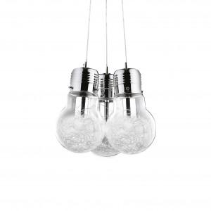 Ideal Lux - Bulb - Luce Max SP3 - Suspension design trois lumières