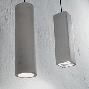 Ideal Lux - Cemento - Oak SP1 Square - Suspension