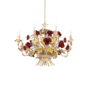 Ideal Lux - Chandelier - Camilla SP8 - Suspension