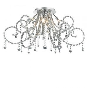 Ideal Lux - Fiore - Fiore PL10 - Lustre élegant avec cristaux