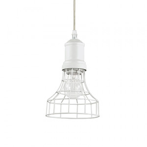 Ideal Lux - Industrial - Cage SP1 Plate - Suspension