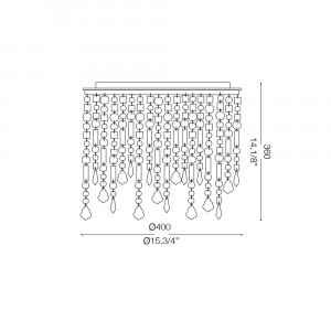 Ideal Lux - Luxury - Ideal Lux Rain PL3