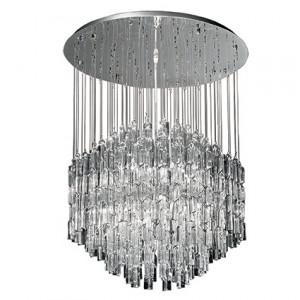 Ideal Lux - Luxury - Majestic SG10 - Lampe de plafond avec pampilles en verre