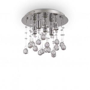 Ideal Lux - Luxury - Moonlight PL5 - Lampe de plafond avec pampilles en cristal