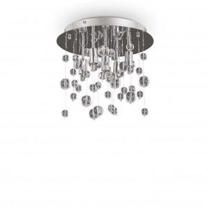 Ideal Lux - Luxury - Neve PL5 - Lampe de plafond cinque lumières avec sphéres en verre