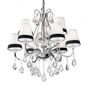 Ideal Lux - Provence - Domus SP9 - Lampe suspension avec cristaux
