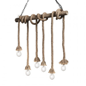 Ideal Lux - Rustic - Canapa SP6 - Suspension