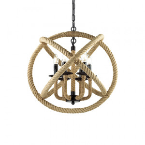 Ideal Lux - Rustic - Corda SP6 - Suspension