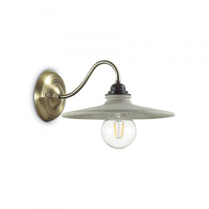 Ideal Lux - Vintage - Brooklyn AP1 - Applique murale