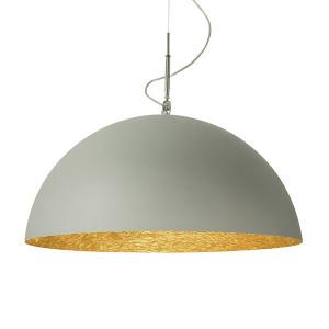 In-es.artdesign - Mezza Luna - Mezza Luna 2 Cemento SP - Lampe suspension moderne