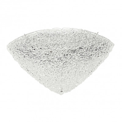 Linea Light - Artic - Plafonnier/applique quartier demi-sphérique 50x50cm - Artic - Cristal - LS-LL-4663