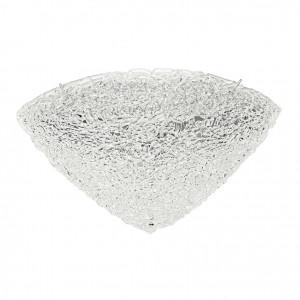 Linea Light - Artic - Plafonnier/applique quartier demi-sphérique 50x50cm - Artic