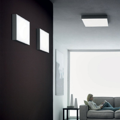 Linea Light - Box - Box L - Lampe murale / au plafond L
