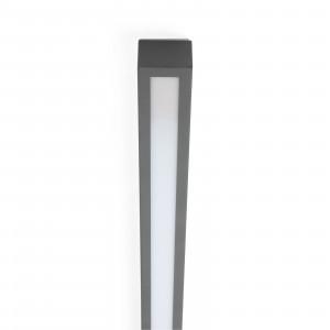 Linea Light - Box - Box SB PL LED S - Plafonnier LED taille S - Ciment -  - Blanc chaud - 3000 K - Diffuse