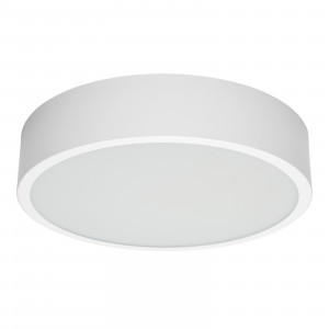 Linea Light - Box - Box SR AP PL LED L - Plafonnier ronde taille L - Blanc -  - Blanc chaud - 3000 K - Diffuse