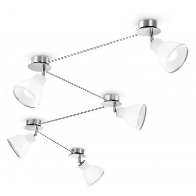 Linea Light - Campana - 5 lampes au plafond Campana