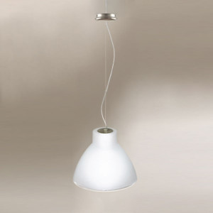Linea Light - Campana - Campana L - Suspension - Nickel satiné - LS-LL-4433